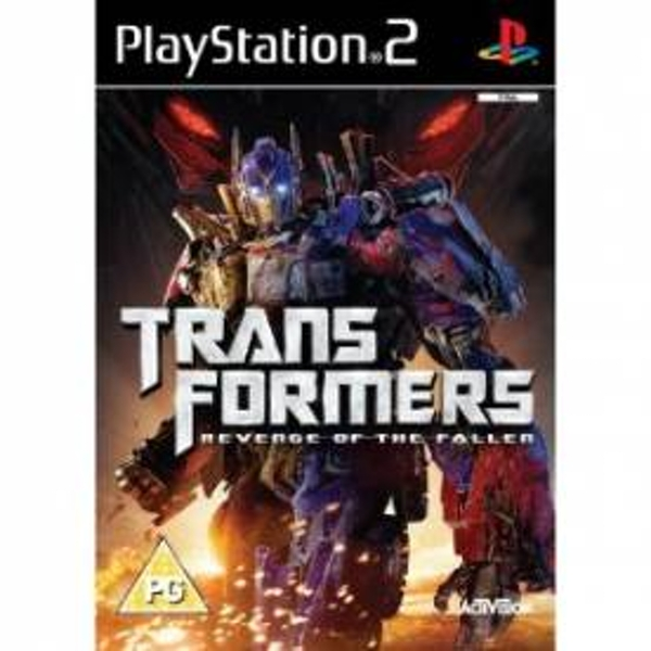 Transformers 2 Revenge Of The Fallen Game PS2