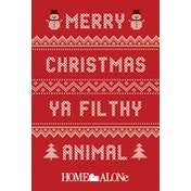 Home Alone - Merry Christmas Ya Filthy Animal Jumper Maxi Poster