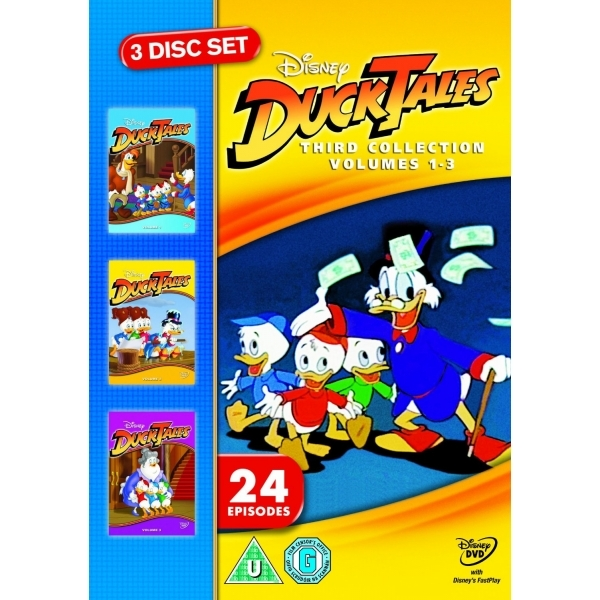 Ducktales Third Collection DVD