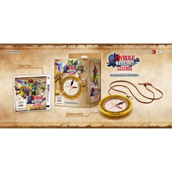 Hyrule Warriors Legends Limited Edition 3DS Game - Image 3