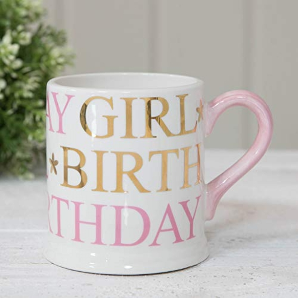 Quicksilver Mug with Foil - Birthday Girl