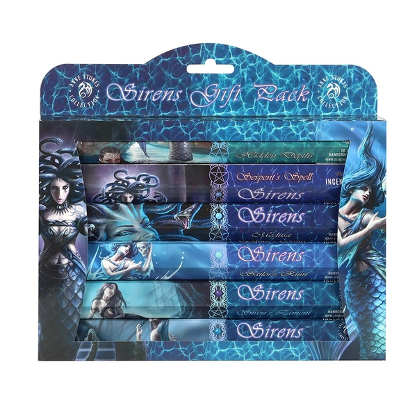 Sirens Incense Gift Pack by Anne Stokes