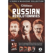 Russian Revolutionaries - 4 DVD & Magazine Collection