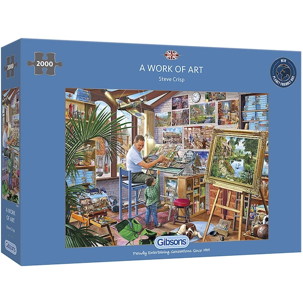Image of A Work of Art Jigsaw Puzzle - 2000 Pieces