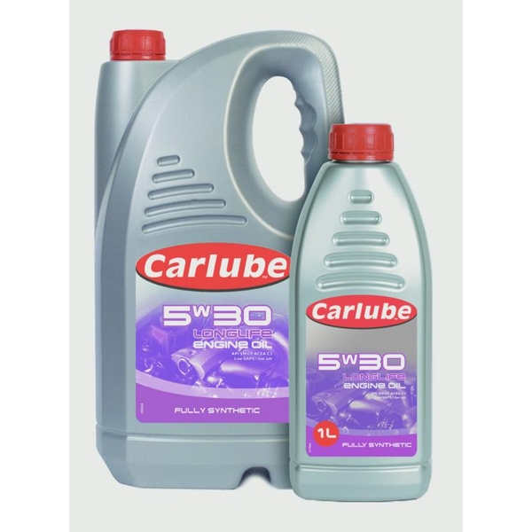 Carlube 5W-30 Longlife Fully Synthetic Engine Oil 1L