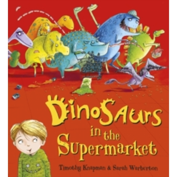 Dinosaurs in the Supermarket Board book