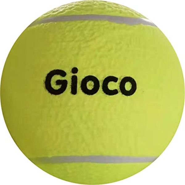 Gioco Unisex-Youth Giant Tennis Ball, Yellow