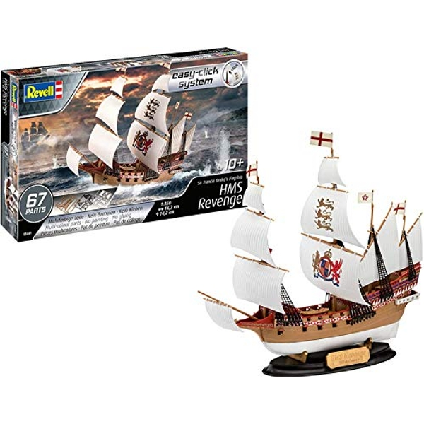 HMS Revenge (easy-click) Revell Model Kit
