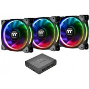 Thermaltake Riing Plus RGB 14cm PWM Fans Premium 3 Pack Software Control