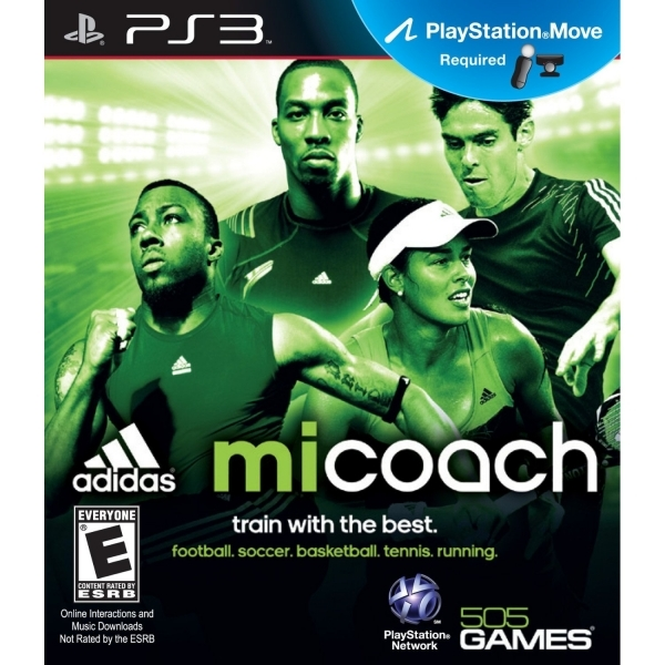 PlayStation Move Adidas miCoach Game PS3 (#)