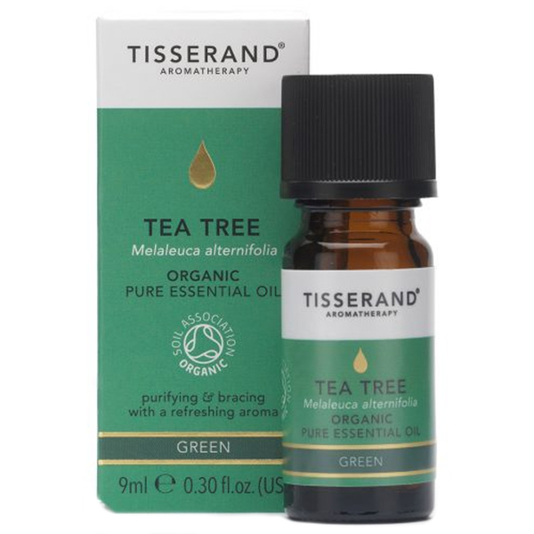 Tisserand Aromatherapy Tea Tree Organic Essential Oil 9ml