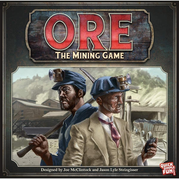 Ore: The Mining Game Board Game