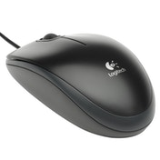 Logitech B100 Optical Mouse - Black