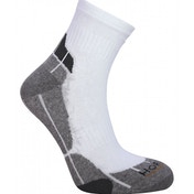 Horizon Pro Sport Quarter Socks 4-7 White