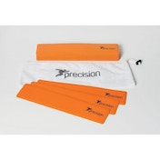 Precision Rectangular Shaped Rubber Markers Orange (Set of 15)