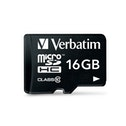 Verbatim 16GB Class 10 Micro SDHC with Adapter