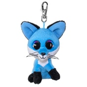 Lumo Stars Mini Keyring - Fox Bluberry Plush Toy