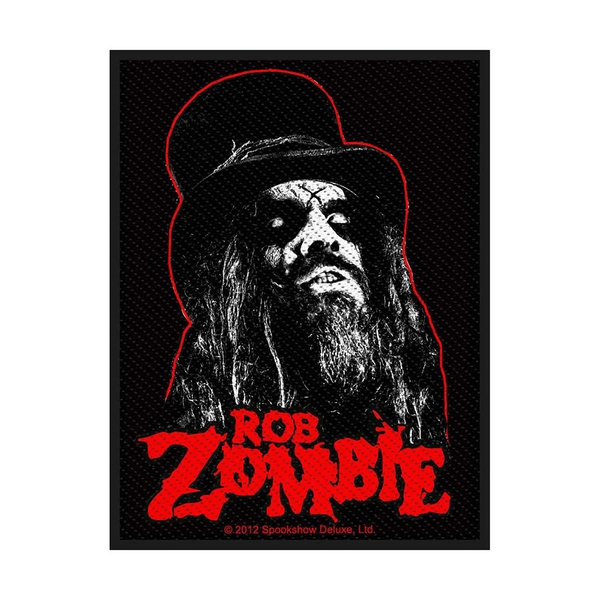 Rob Zombie - Portrait Standard Patch