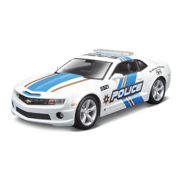 1:18 2010 Chevrolet Camaro SS RS Police Diecast Model