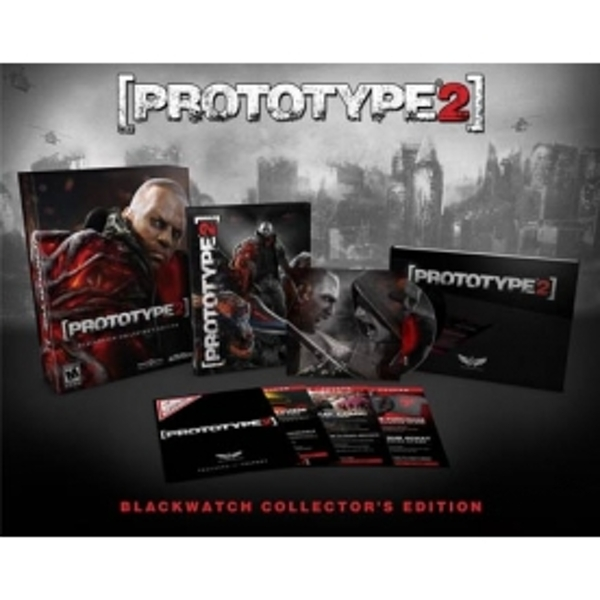 Prototype 2 Blackwatch Collector's Edition Game Xbox 360