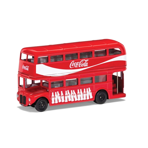London Coca Cola 1:64 Model Bus