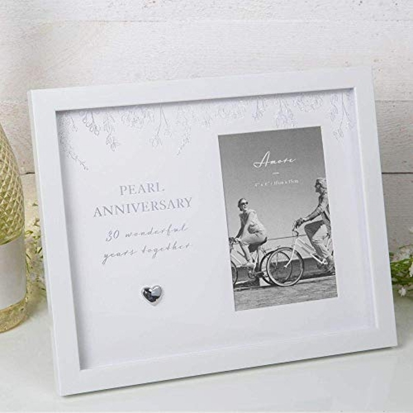 "4"" x 6"" - AMORE BY JULIANA? Anniversary Photo Frame - 30"