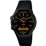 Casio AW90H-9EV Men's Dual Display Watch Black