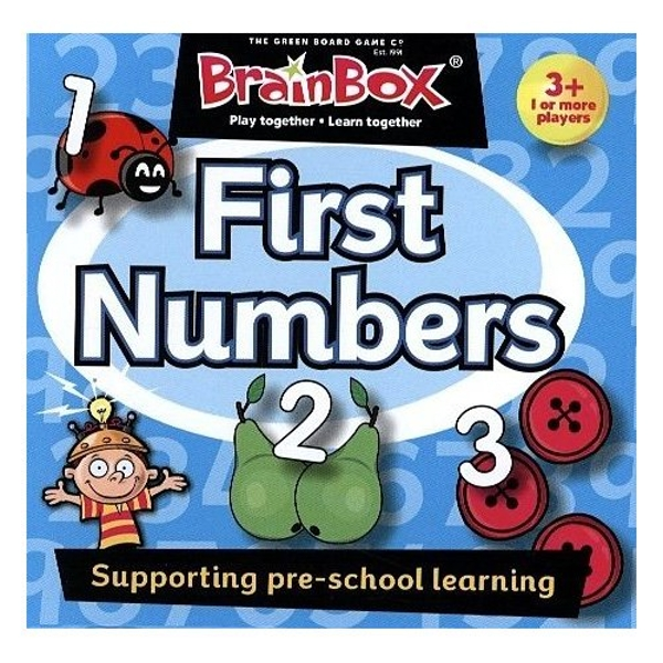 BrainBox First Numbers Pre School Card Game