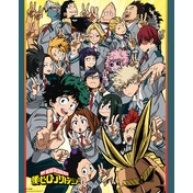 My Hero Academia School Compilation Mini Poster