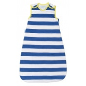 Grobag Sleep Bag - True Blue Stripes 1.0 Tog (0-6 Months)