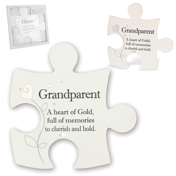 Said with Sentiment Jigsaw Wall Art Grandparent