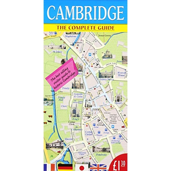 Cambridge A Unique Collection of Pictures and Ideas 1998 Sheet map, folded