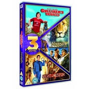Gulliver's Travels / Chronicles Of Narnia / Night At The Museum DVD