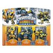Legendary Jet-Vac, Slam Bam, and Ignitor (Skylanders Giants) Triple Character Pack