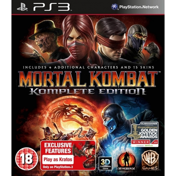 Mortal Kombat Komplete (Complete) Edition Game PS3
