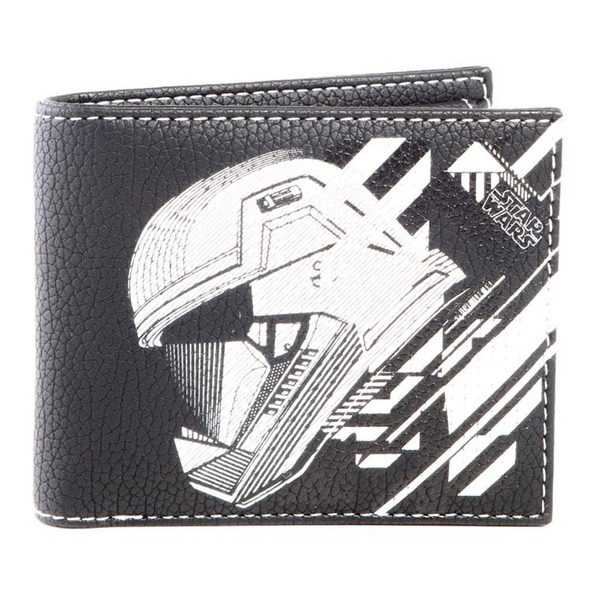 Star Wars - Storm Trooper Mask Unisex Bi-Fold Wallet - Black