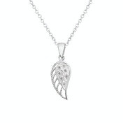 Crystal Angel Wing Necklace