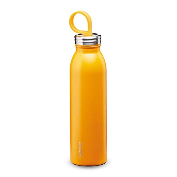 Aladdin Chilled Thermavac Stainless Steel Water Bottle 0.55L Sun Yellow