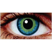 Blue Jade 1 Month Coloured Contact Lenses (MesmerEyez Infusionz)