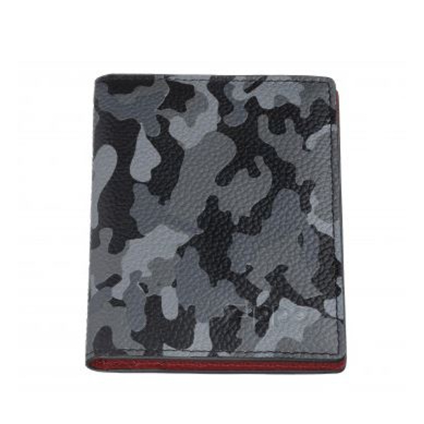 Zippo Grey Camouflage Leather Credit Card Holder (10.5 x 8 x 1cm)