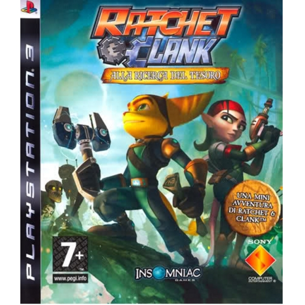 Ratchet & and Clank Quest For Booty Game PS3
