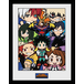 My Hero Academia Chibi Compilation Framed Collector Print - Image 2