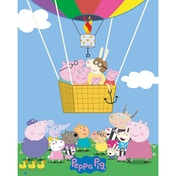 Peppa Pig Balloon Mini Poster