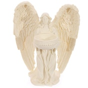 Kneeling Angel Cream Tea Light Holder