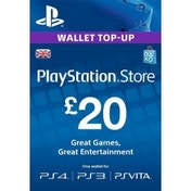 20 Playstation Network Card PSN UK PS3 & Vita & PS4