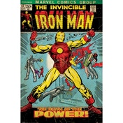 Iron Man - Birth Of Power Maxi Poster