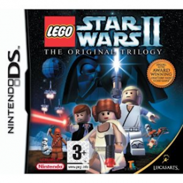 Lego Star Wars II 2 The Original Trilogy Game DS