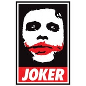 The Dark Knight (obey The Joker) Maxi Poster