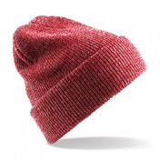 Heather Red Heritage Knitted Beanie ZT