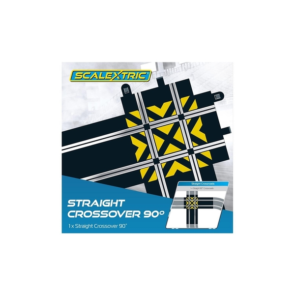 Straight 90 Crossroads Scalextric Accessory Pack